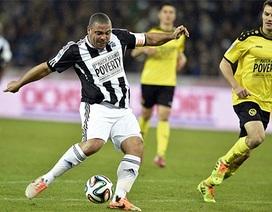 """Màn phô diễn kỹ thuật tuyệt vời của Ronaldo """"béo"""""""