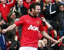 Bàn thắng đầu tiên của Mata cho MU