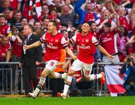 Ngược dòng hạ Hull, Arsenal vô địch FA Cup