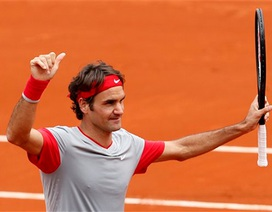 Federer đập tan mọi nghi ngờ để tiến bước