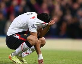 Suarez khóc lớn sau khi Liverpool đánh rơi chiến thắng