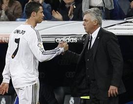 Ancelotti sắp đẩy C.Ronaldo lên ghế dự bị