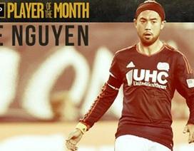 Lee Nguyễn được tôn vinh ở MLS