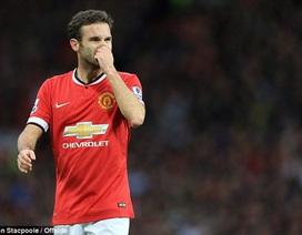 Van Gaal loại bỏ Juan Mata ở trận derby Manchester