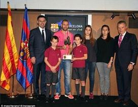 Messi không được chọn là Cầu thủ xuất sắc nhất Barcelona