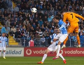 """Malaga - Real Madrid: """"Bão táp"""" tại La Rosaleda"""