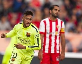 Barcelona lội ngược dòng đánh bại Almeria