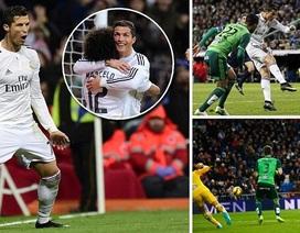 C.Ronaldo lập hattrick, Real Madrid đại thắng Celta Vigo