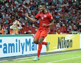 Singapore 4-2 Myanmar: Nhà đương kim vô địch thị uy sức mạnh
