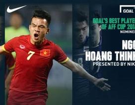 Hoàng Thịnh dẫn đầu top cầu thủ xuất sắc nhất AFF Cup
