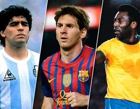 Những tiền bối vĩ đại nói gì về Messi