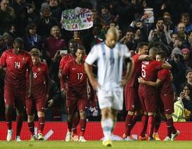 Ghi bàn phút cuối, Bồ Đào Nha đánh bại Argentina
