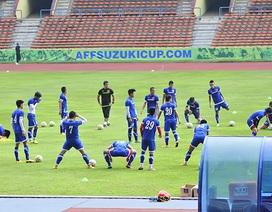 Đội tuyển Việt Nam tập kín trong ngày làm quen sân Shah Alam