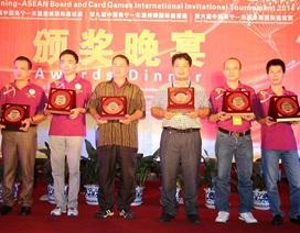 Việt Nam giành thành tích cao tại giải cờ tướng quốc tế Nam Ninh Open