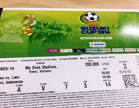 VFF lý giải vì sao giá vé lại cao tại AFF Cup 2014