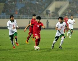 Công Phượng chật vật tìm chỗ đứng ở Olympic Việt Nam