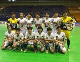 Nữ Thái Sơn Nam vô địch giải futsal các CLB Đông Nam Á