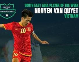 Văn Quyết được bình chọn là cầu thủ xuất sắc nhất Đông Nam Á