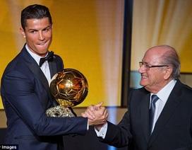 Hai trong ba lá phiếu của Việt Nam bầu cho C.Ronaldo
