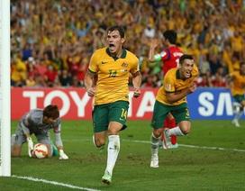 Đánh bại Hàn Quốc đầy nghẹt thở, Australia lần đầu vô địch châu Á