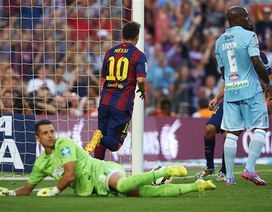 "Barcelona ""trút giận"" tại Los Carmenes"