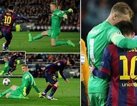 Joe Hart giúp Man City tránh…10 bàn thua ở Nou Camp