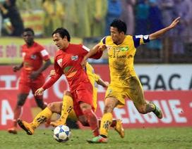 SL Nghệ An lần đầu giành chiến thắng trên sân nhà