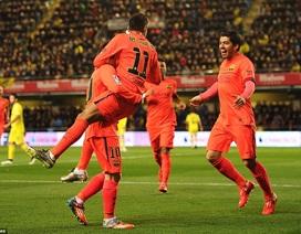 Neymar-Suarez lập công, Barcelona tiến vào chung kết