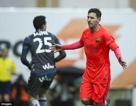 Messi lập cú đúp, Barca bỏ xa Real Madrid 4 điểm