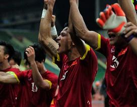 Niềm hạnh phúc vô bờ bến của các tuyển thủ U23 Việt Nam