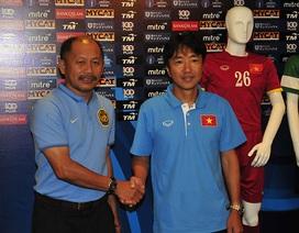 HLV Miura thể hiện quyết tâm đánh bại U23 Malaysia