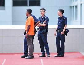 An ninh thắt chặt bảo vệ cầu thủ U23 Việt Nam