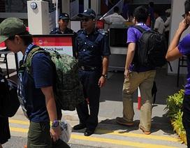 Hàng trăm nhân viên an ninh bảo vệ trận U23 Việt Nam-U23 Brunei