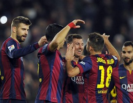 """Barcelona giành trọn 3 điểm trước """"kẻ cùng đường"""" tại Nuevo Arcangel?"""