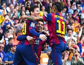 Messi-Suarez lập công, Barcelona hạ gục Valencia