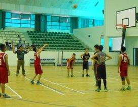 Sôi động giải bóng rổ học sinh Hà Nội lần thứ 9
