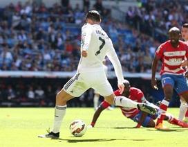 Real Madrid 9-1 Granada: C.Ronaldo ghi 5 bàn thắng