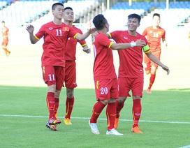U23 Việt Nam 6-0 U23 Brunei (kết thúc)