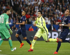 Suarez lập cú đúp, Barcelona hạ gục PSG