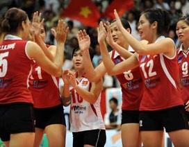 Đội tuyển bóng chuyền nữ Việt Nam xuất sắc đánh bại Iran