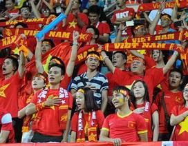 CĐV Việt Nam tiếp lửa cho thầy trò HLV Miura trên sân Bishan