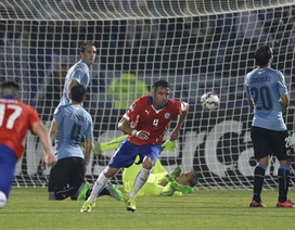 Cavani bị đuổi, Uruguay trở thành cựu vương Copa America