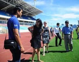 Đại diện Man City hài lòng với cơ sở vật chất sân Mỹ Đình