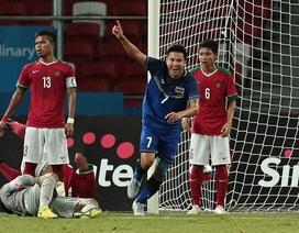 Thắng đậm Indonesia 5-0, U23 Thái Lan tiến vào chung kết