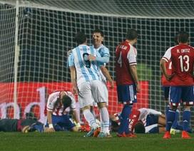 Thắng Paraguay với tỷ số tennis, Argentina tiến vào chung kết