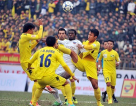 SL Nghệ An thất thủ ngay trên sân nhà