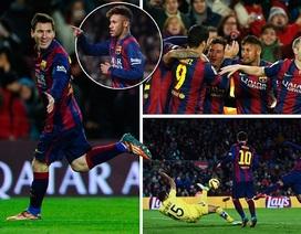 """Nhìn lại 90 phút Barcelona nhọc nhằn """"vượt ải"""" Villarreal"""