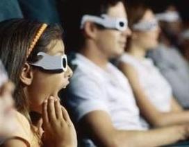 Trẻ dưới 6 tuổi không nên dùng kính 3D