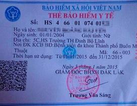 Hơn 32.000 thẻ BHYT học sinh sai ngày tháng sinh