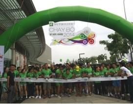 """Cùng Nutrilite tham gia """"Ngày chạy vì sức khoẻ 2015"""""""